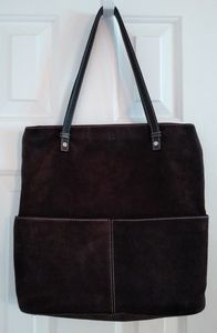 Kate Spade Made in Italy Suede Tote